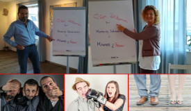 Mentoring-Infoabend in Vorbereitung